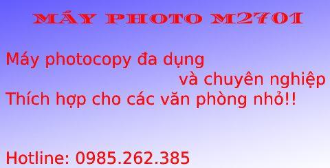 Máy photocopy M2701 giá rẻ